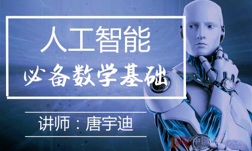 人工智能-必备数学基础大发棋牌大发棋牌技巧技巧 视频 课程