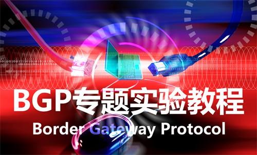 【干货!不讲PPT系列】边界网关协议BGP专题教程!详解BGP的Path属性!H3CSE华三BGP