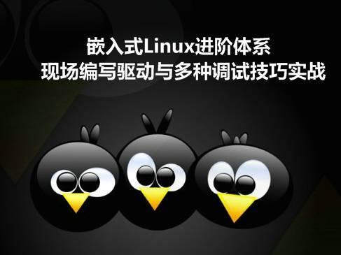 嵌入式Linux進階:現場編寫高級驅動與獨家調試技巧(韋東山2期)