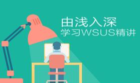 由浅入深学习WSUS[精讲视频课程]
