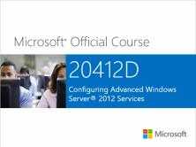 MCSA 2012 R2之412-配置高级Windows Server 2012 R2服务视频课程