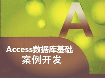 Access基础及案例开发视频课程专题