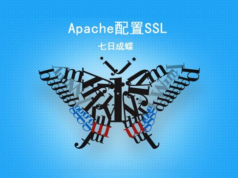 Apache配置SSL(七日成蝶)