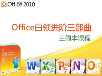 【王佩豐】白領進階:Excel+PPT+VBA視頻教程套餐