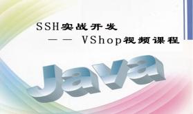 SSH实战开发 —— VShop视频课程