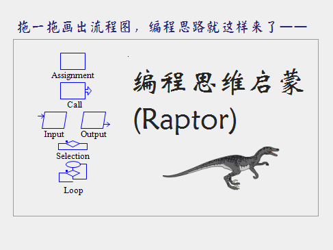 C、C++、Java编程思维启蒙(Raptor)视频课程
