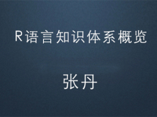 R语言知识体系概览视频课程
