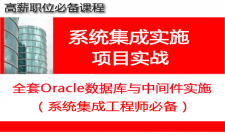 Oracle数据库及中间件项目实施专题(系统集成工程师必备)