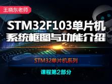 STM32F103单片机系统架构-王晓东老师STM32单片机系列视频课程第2部分