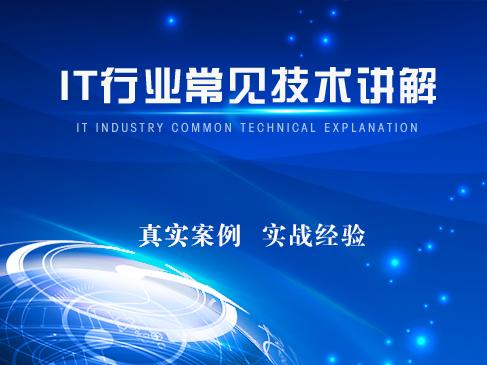 IT行业常见技术及专业术语讲解实战视频课程