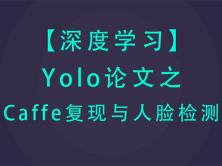 深度学习caffe Yolo复现与人脸检测视频课程(caffe进阶)