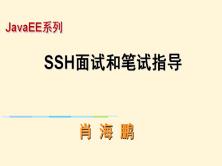 SSH面试和笔试指导视频课程