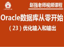 赵强老师:Oracle数据库(23):优化输入和输出视频课程