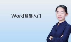 Word基础入门视频课程