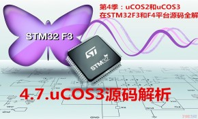 uCOS3源码解析视频教程-第4季第7部分