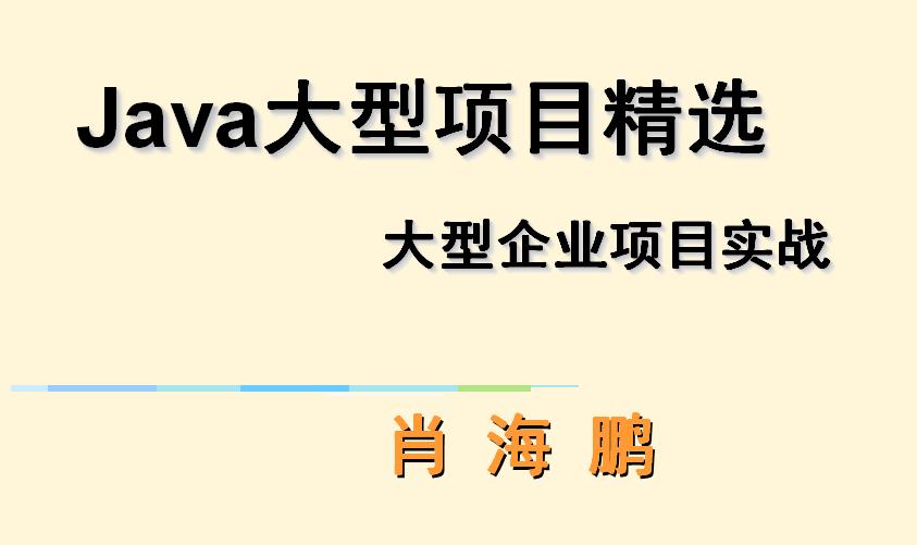 Java大型企业级项目精选专题