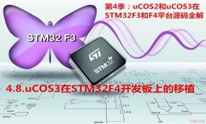 uCOS3在STM32F4开发板上的移植-第4季第8部分