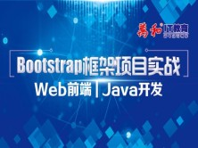 Bootstrap框架项目实战 WEB前端 Java开发视频教程