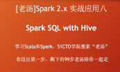 [老汤]Spark 2.x 之精讲Spark SQL专题