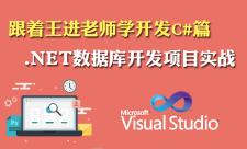 .NET数据库开发项目实战 视频课程专题