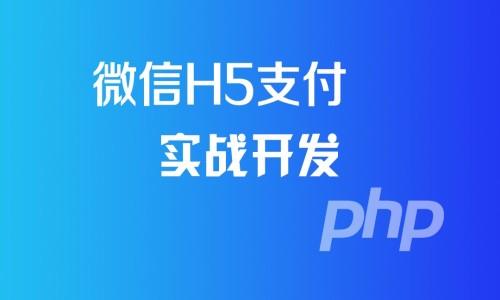 微信H5支付全流程分析与实战开发系列视频课程(提供微信支付原生代码)