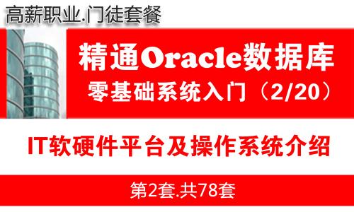 IT软硬件平台及操作系统介绍_Oracle数据库入门必备系列教程02