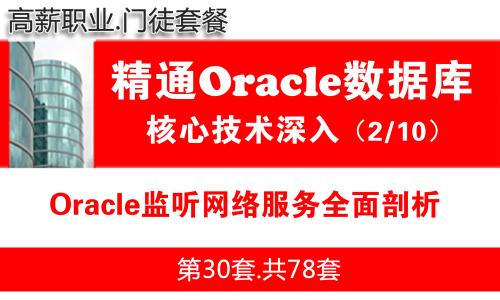 Oracle监听网络服务全面剖析_Oracle视频教程_基础深入与核心技术02