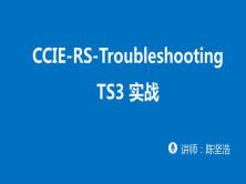 CCIE-RS-Troubleshooting TS3 实战视频课程