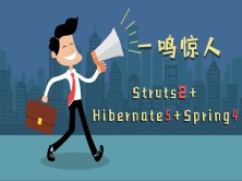 Struts2+Hibernate5+Spring4(ssh)