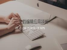 WPS Office之Word文字文档编辑应用技能视频课程