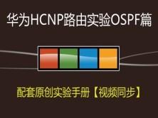 华为HCIP路由实验之OSPF篇视频课程【华为HCNP系列课程-2】