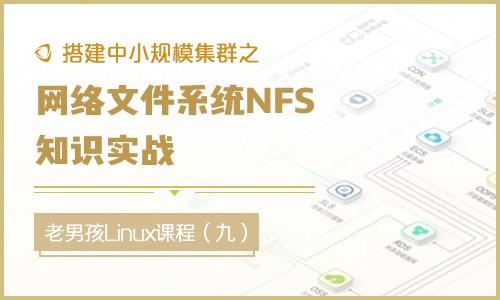 搭建中小规模集群之网络文件系统NFS知识实战视频课程(九)