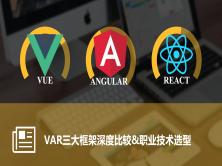 颠覆式开发Master方案-VAR三大框架比较&职业技术选型视频课程