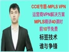 CCIE專題-MPLS,MPLS VPN視頻課程