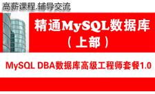 MySQL DBA数据库高级工程师培训专题1.0(上部 )