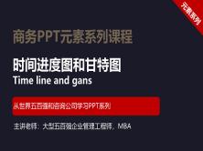 【司马懿】商务PPT设计进阶元素篇05【甘特图和时间进度图】
