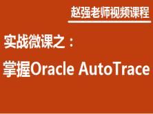 赵强老师:实战微课-5分钟轻松学习Oracle Auto Trace