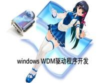 windows wdm驱动程序开发视频课程