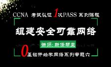 2019年CCNA考试认证1次PASS-0基础学网络系列6