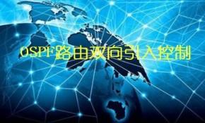 OSPF路由双向引入控制视频课程