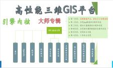零基础地理信息引擎操作-大师系列教程(五步走)
