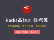 Redis高性能数据库/极速缓存技术视频教程
