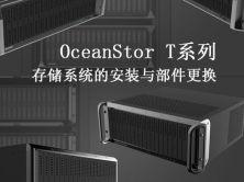 OceanStor T系列存储系统的硬件安装与部件更换视频课程