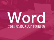 Word项目实战从入门到精通视频课程(兼容2007、2010、2013、2016)