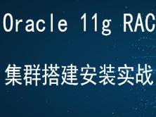 Oracle 11g RAC集群视频课程