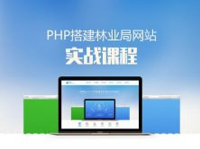 PHP搭建林业局网站实战课程