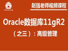 赵强老师:Oracle数据库(之三):高级管理视频课程