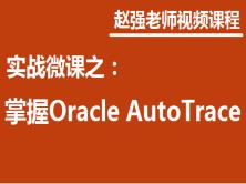 赵强老师:实战微课-5分钟轻松掌握Oracle Auto Trace