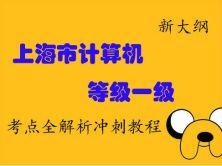 上海市计算机等级考试一级考点全解析冲刺视频课程