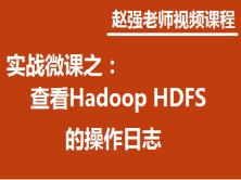 赵强老师:实战微课—5分钟教你搞定如何查看Hadoop HDFS的操作日志